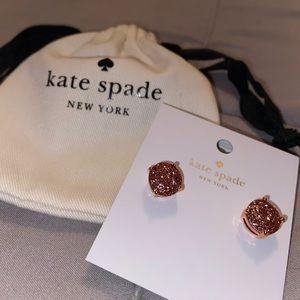Kate spade NWT gold earrings